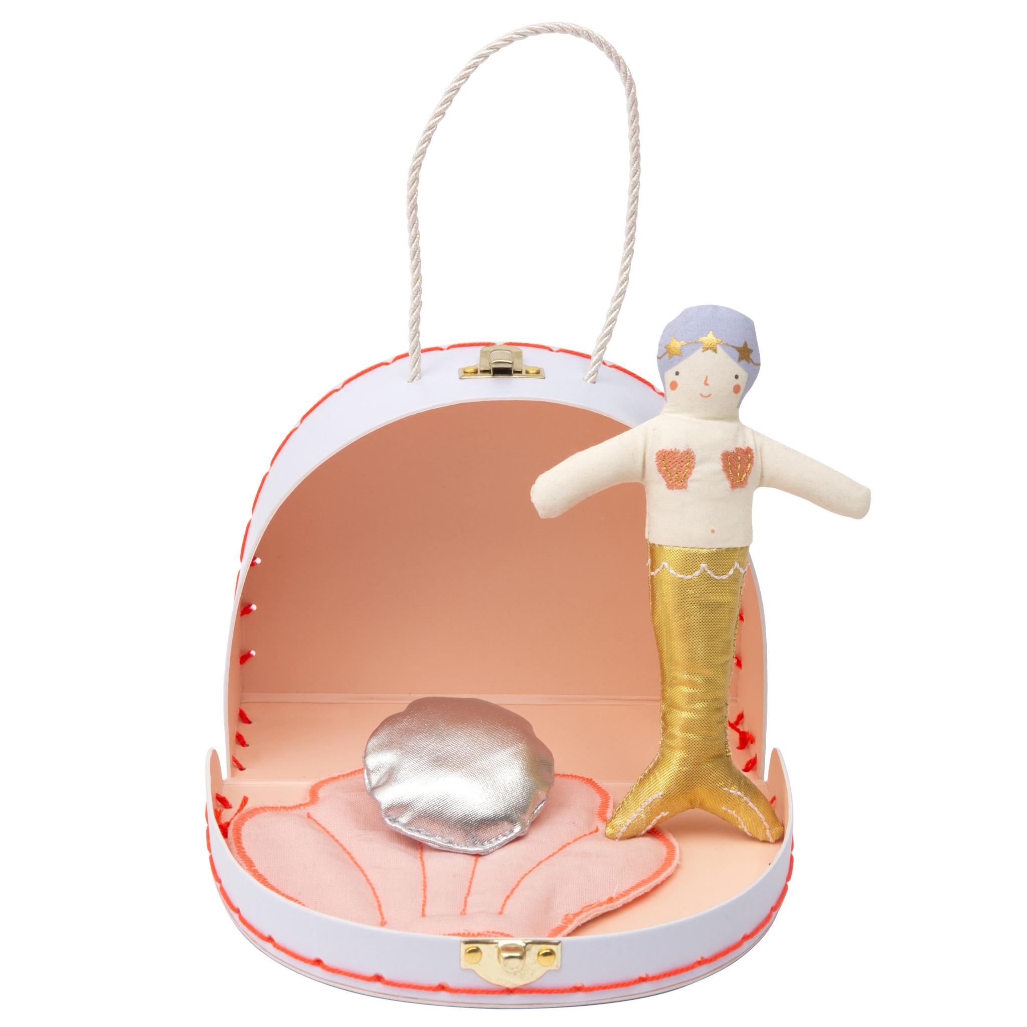 MERIMERI Mini mermaid suitcase