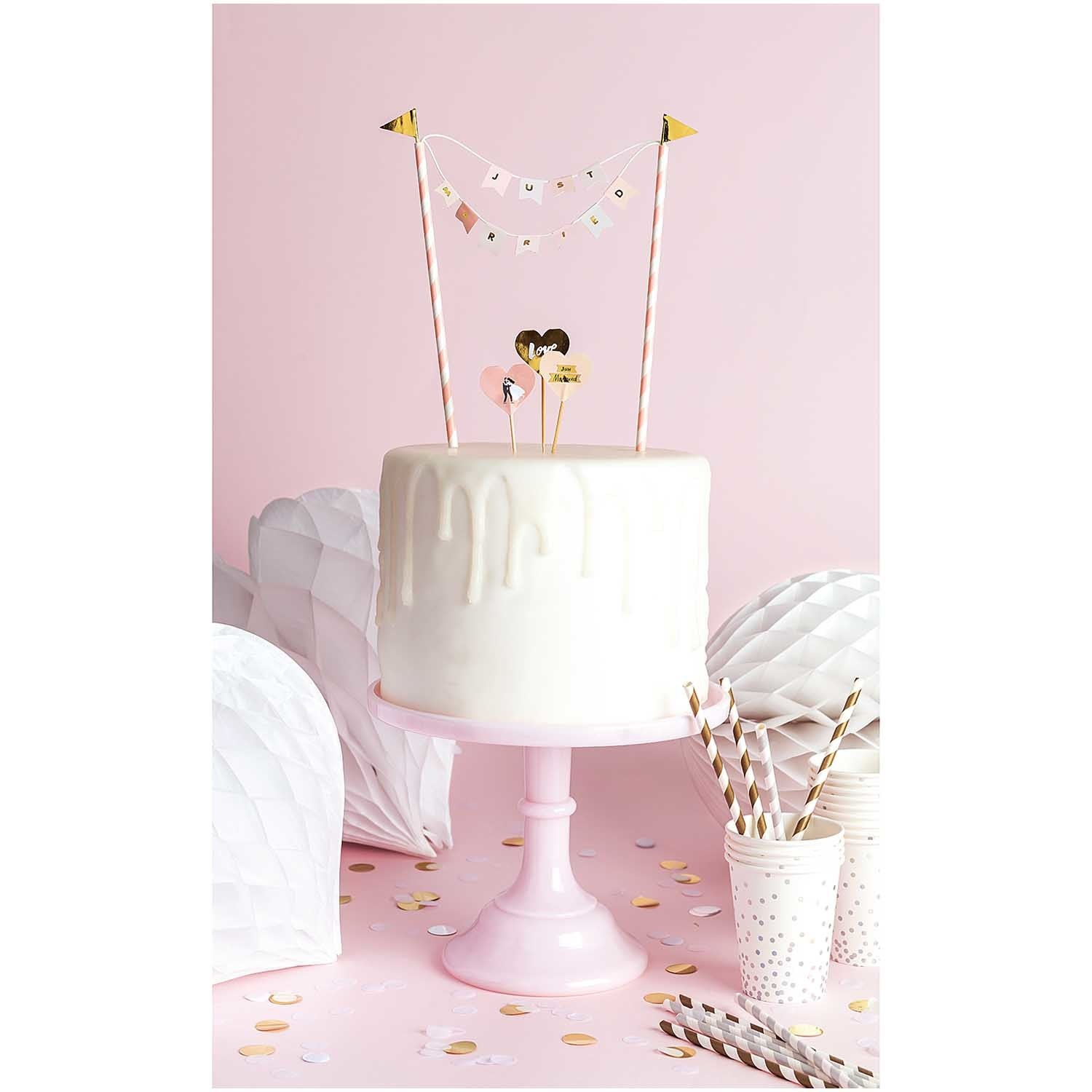 RICO CAKE DECORATION, JUST MARRIED