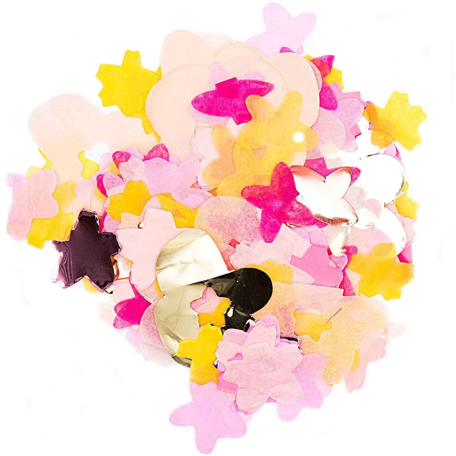 RICO CONFETTI, FLOWERS, PINK MIX