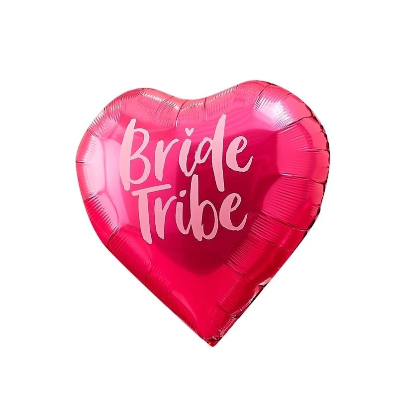 GINGERRAY PINK & IRIDESCENT BRIDE TRIBE HEN BALLOONS - BRIDE TRIBE