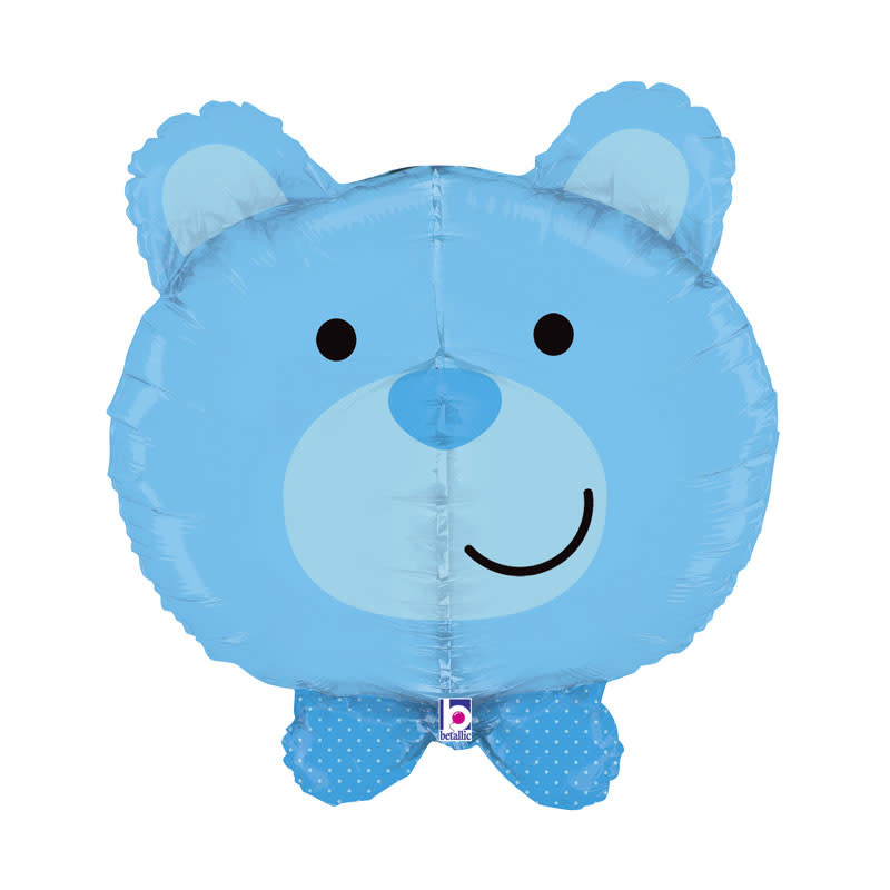 SMP dimensional blue bear foil balloon 69 cm