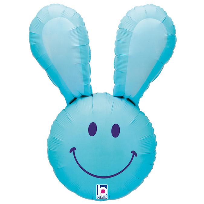 SMP blue bunny foil balloon 94 cm
