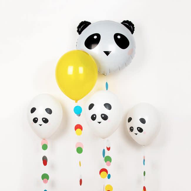 MY LITTLE DAY printed balloons - mini-panda 5 x