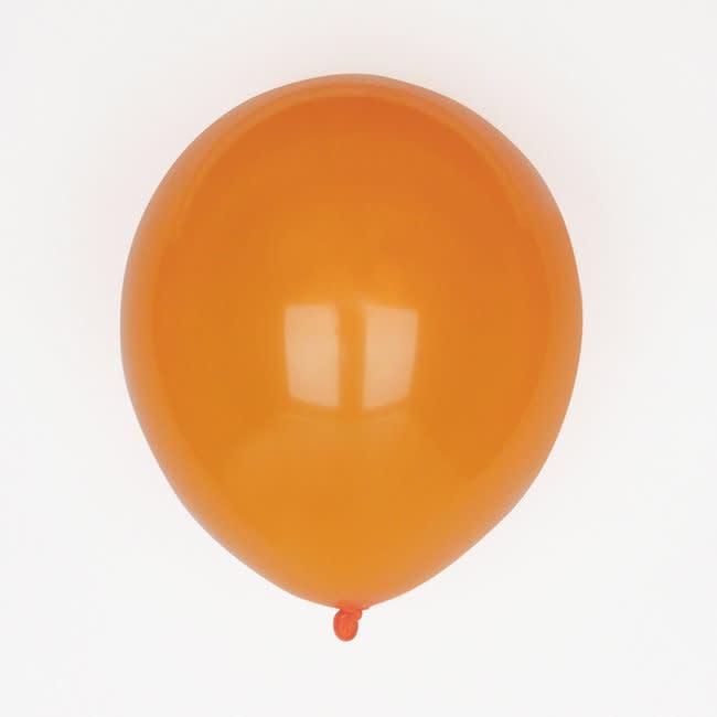 MY LITTLE DAY 10 latex balloons orange