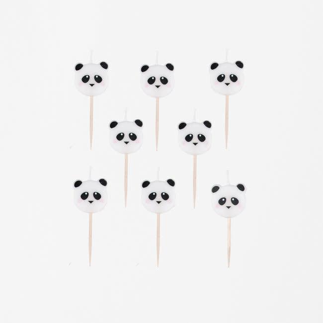 MY LITTLE DAY candles mini panda 8 x
