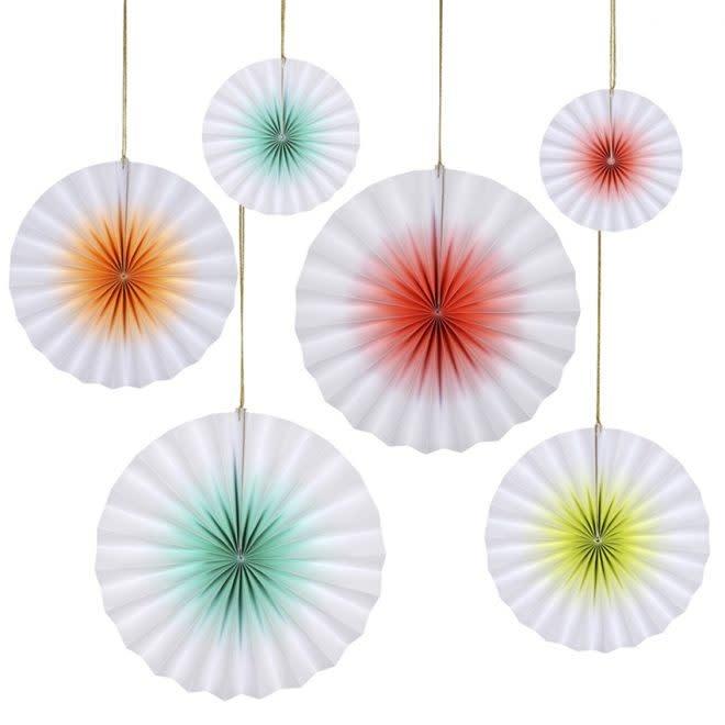 MERIMERI Neon ombre pinwheels