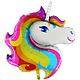 SMP unicorn head foil balloon 105 cm