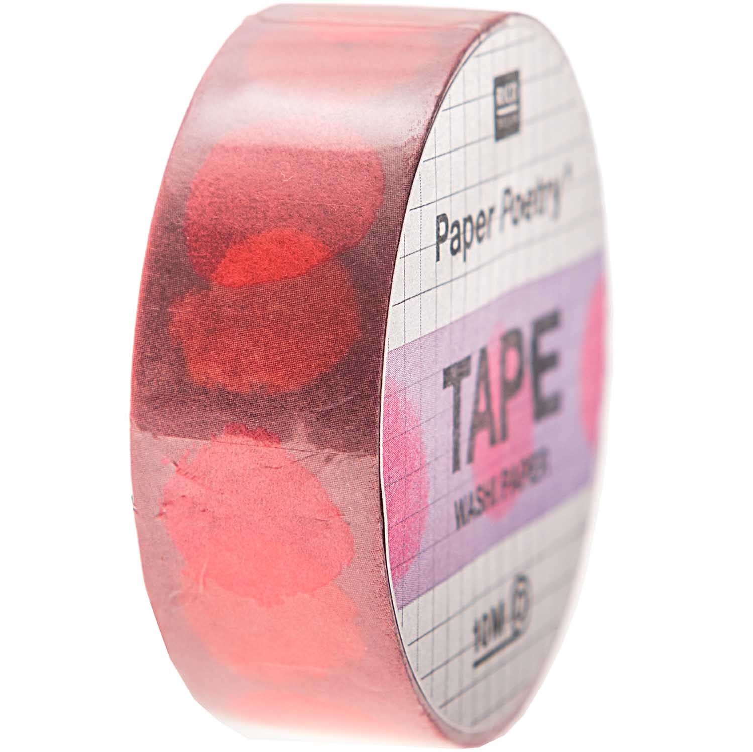 RICO TAPE,CRAFTED,SPOT,PINK FSC MIX