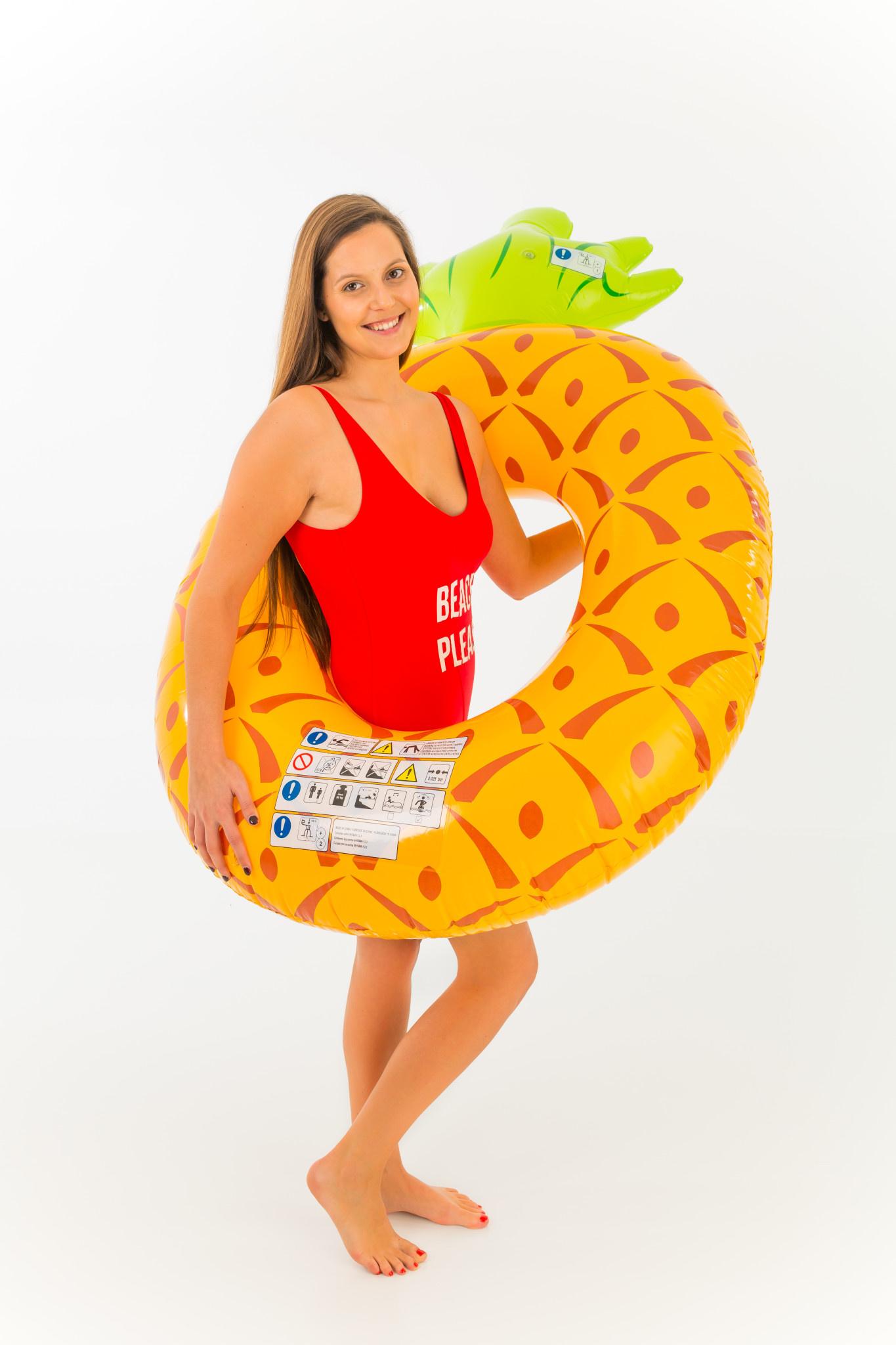 DIDAK Pineapple Swim Ring  - 180x115cm