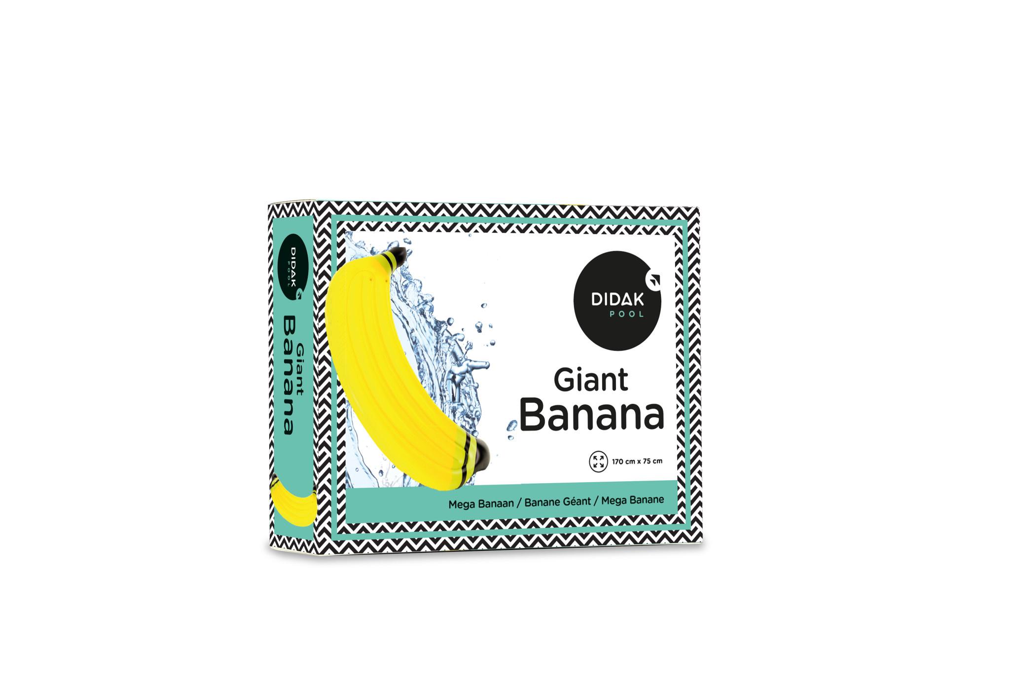 DIDAK Giant Banana Float  - 170x75cm