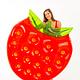 DIDAK Big Strawberry Float  - 143x140x25cm