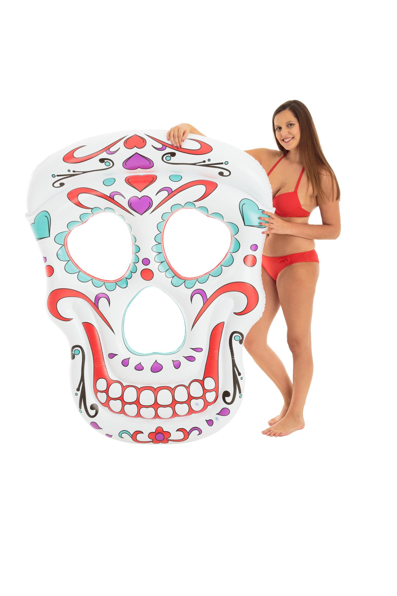 DIDAK Giant Skull Mattress - 165x125x13cm