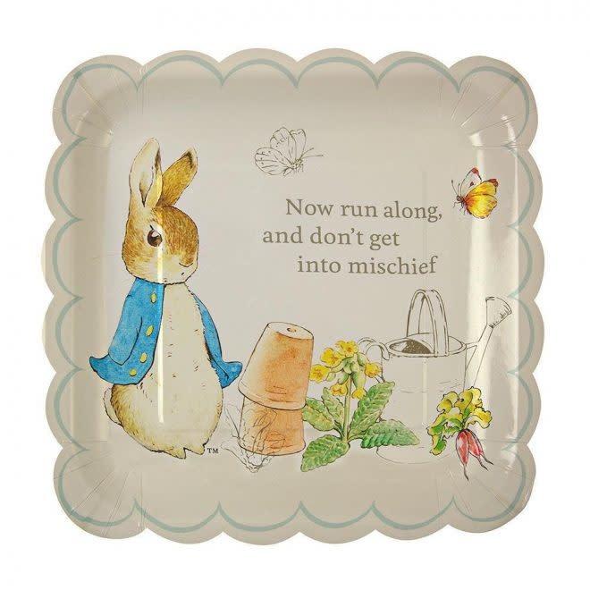 MERIMERI Peter Rabbit plates L