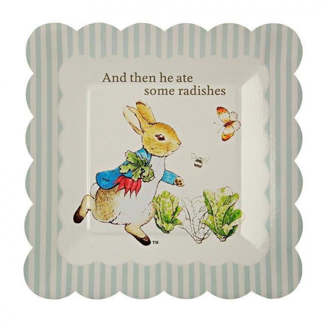 MERIMERI Peter Rabbit plates S