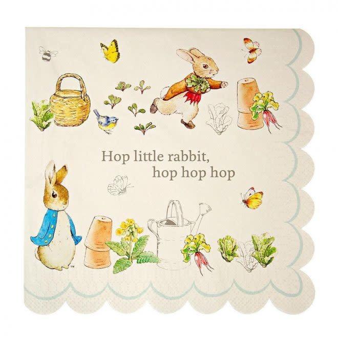 MERIMERI Peter Rabbit napkins L