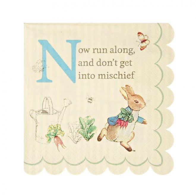 MERIMERI Peter Rabbit napkins S