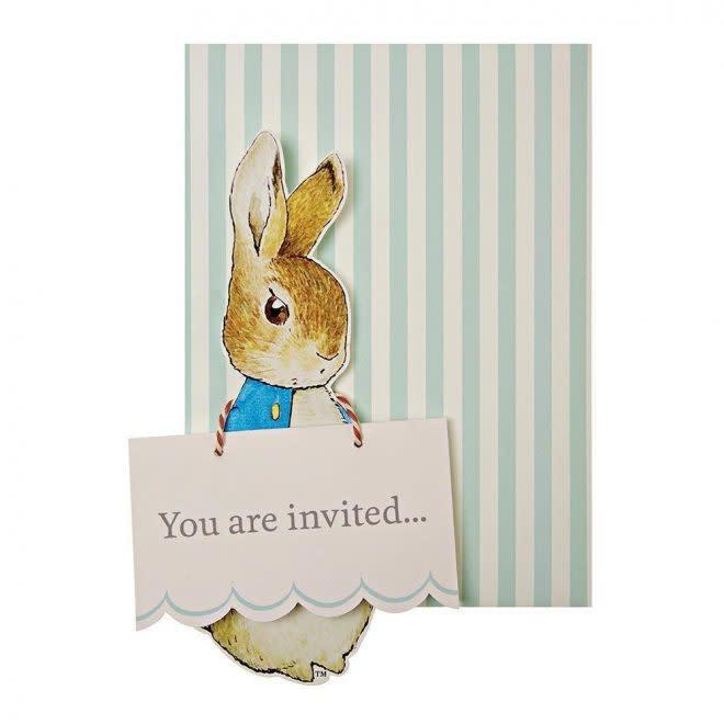 MERIMERI Peter Rabbit invitations