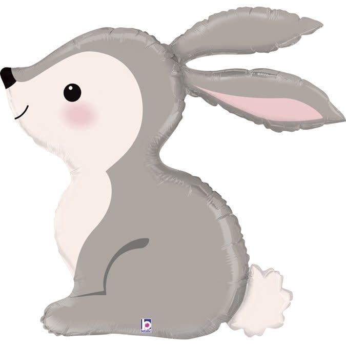 SMP bunny foil balloon 91 cm
