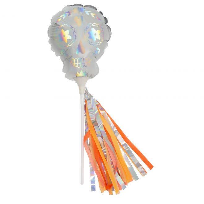 MERIMERI Mini skull balloon wands
