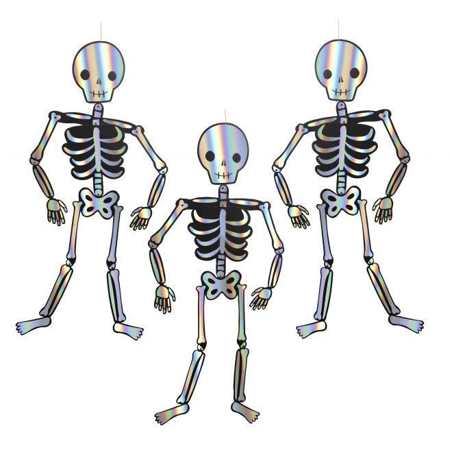 MERIMERI Giant skeleton decorations