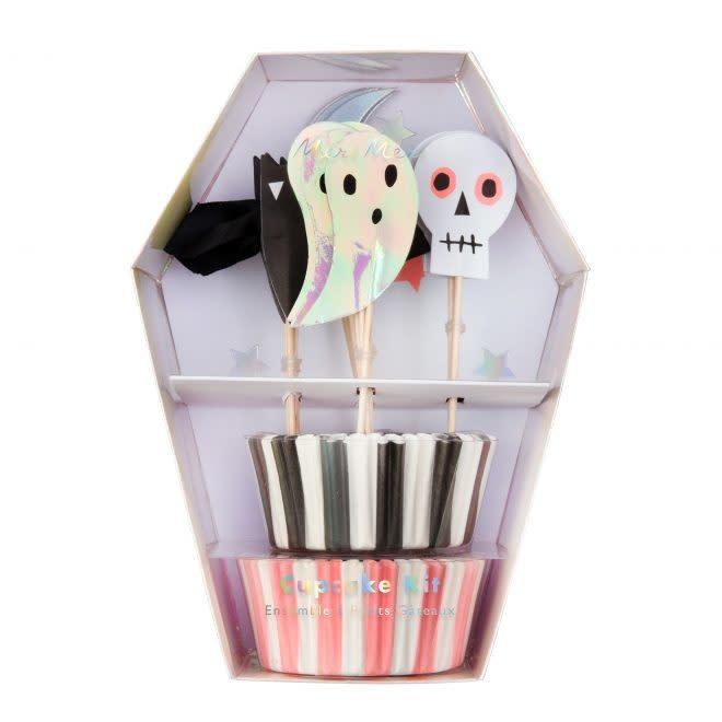 MERIMERI Halloween icons cupcake kit