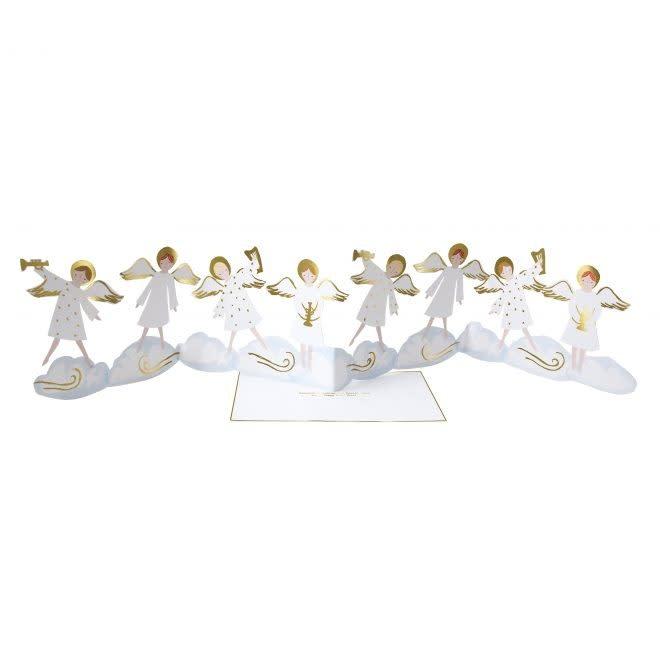 MERIMERI Angel concertina card