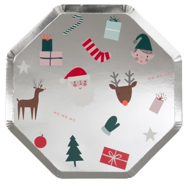 MERIMERI Christmas icon plates L