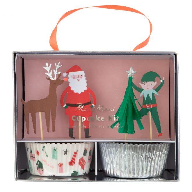 MERIMERI Festive icon cupcake kit