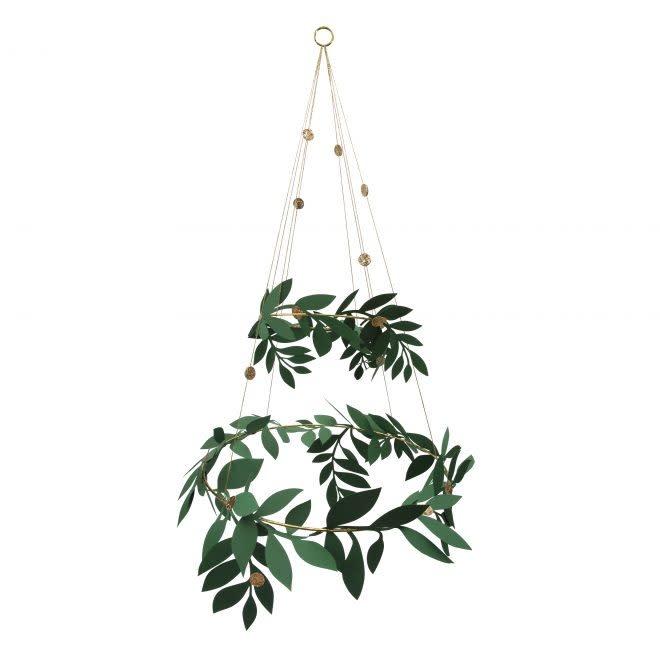 MERIMERI Foliage chandelier