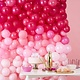 GINGERRAY OMBRE PINK BALLOON WALL DECORATION - STARGAZER
