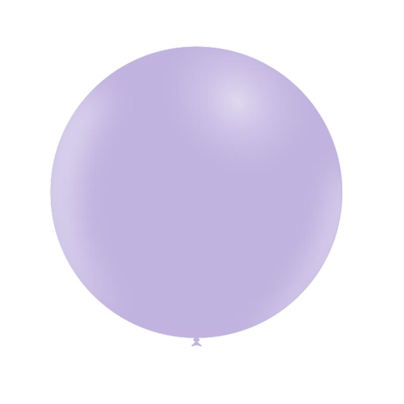 SMP 1 round latex balloon pastel matte purple 60 cm