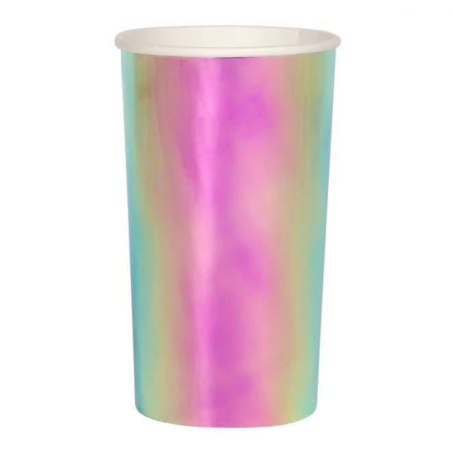 MERIMERI Oil slick highball cups