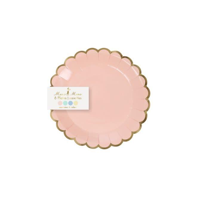 MERIMERI Pastel plates XS
