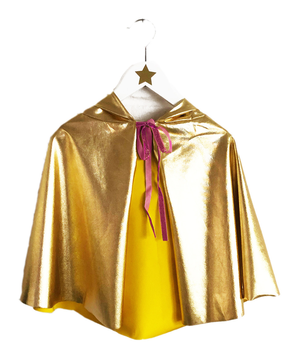 RATATAM gold disco cape