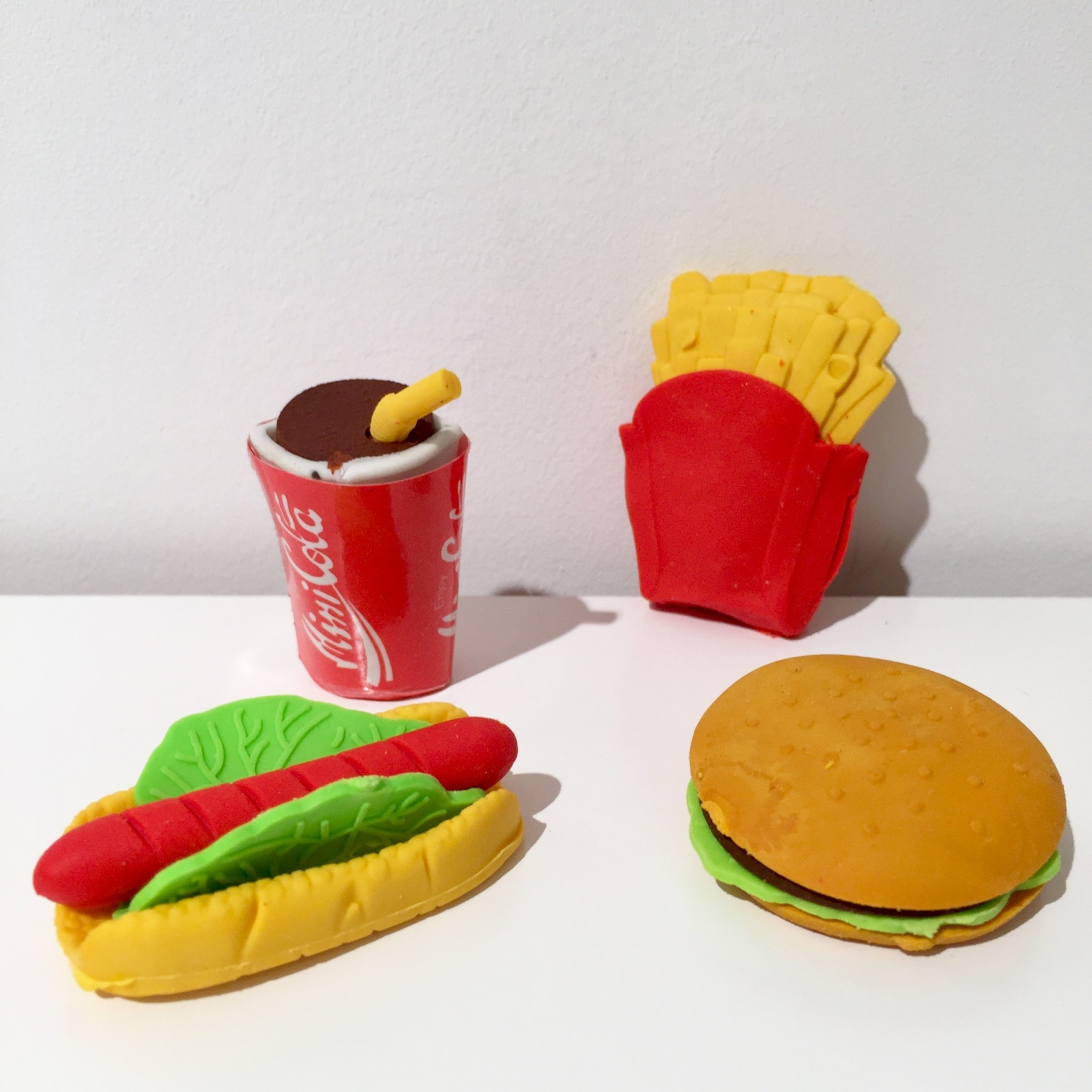 AG eraser fast food