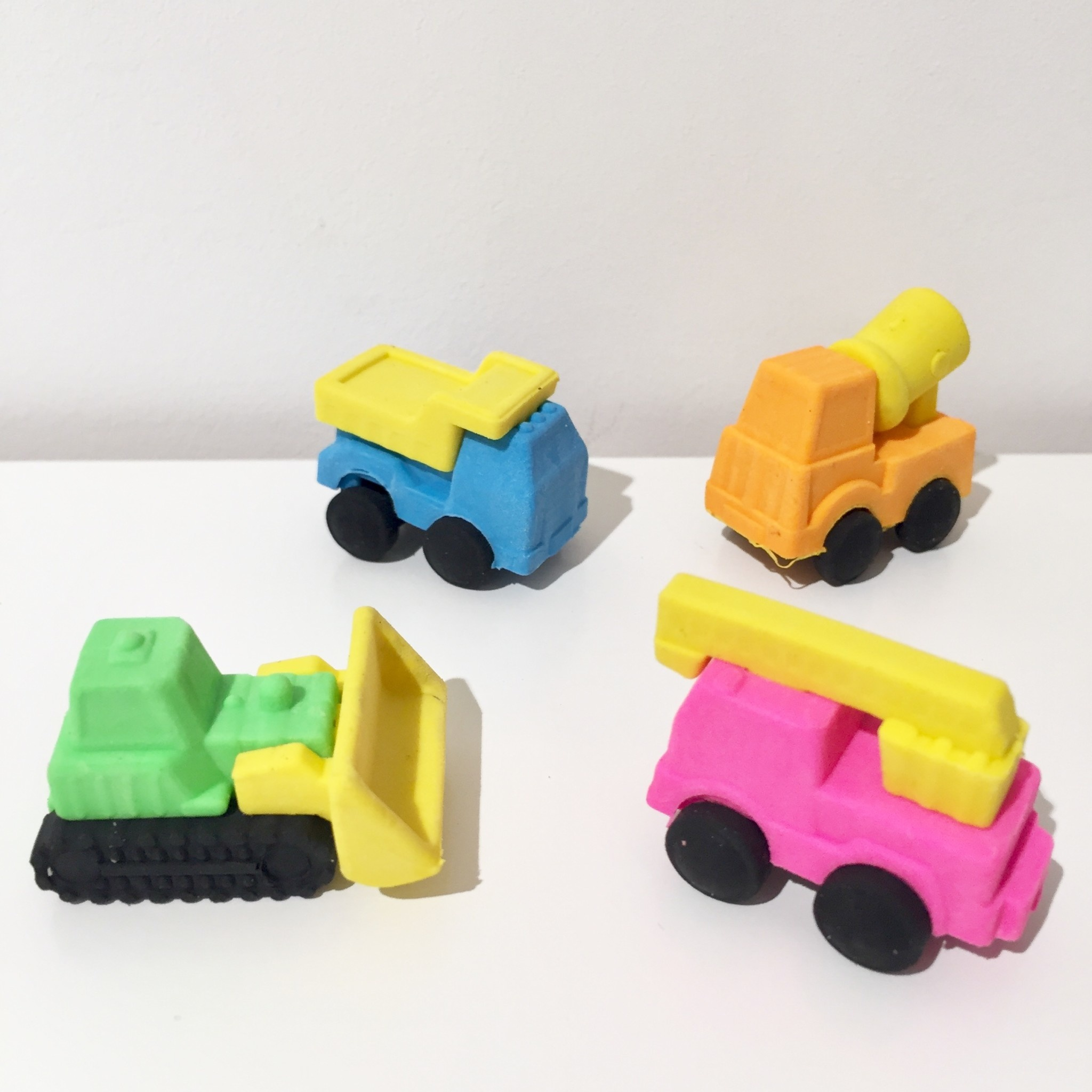 AG eraser construction vehicles