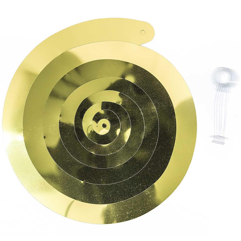 RICO SPIRAL STREAMER, GOLD