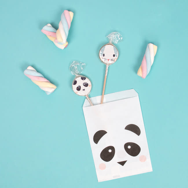 MY LITTLE DAY 10 panda paper bags