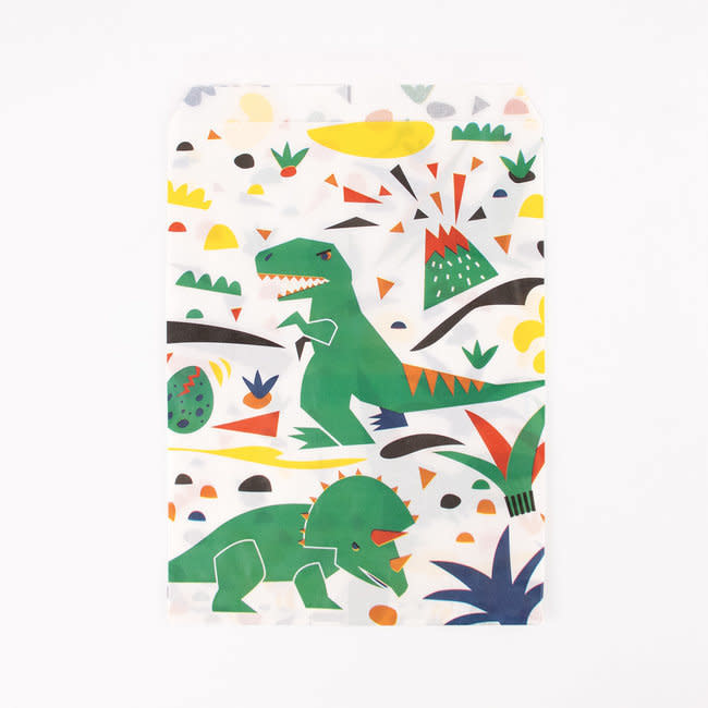 MY LITTLE DAY 10 dinosaur paper bags