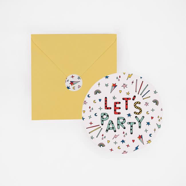 MY LITTLE DAY 8 invitations happy birhday