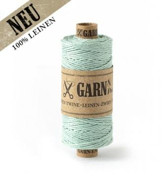 Garn & Mehr bakers twine linen light mint