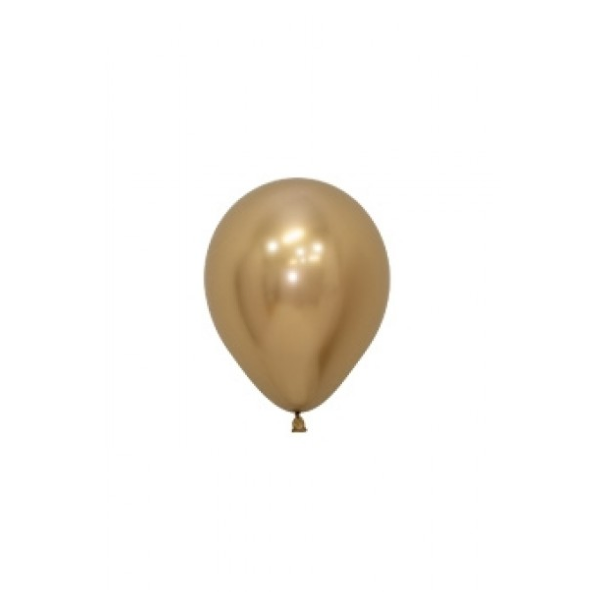SMP 25 x mini latex balloons gold 12,5 cm