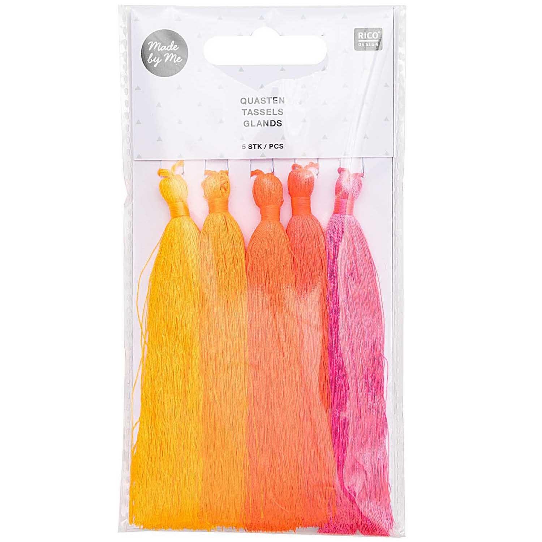 RICO Tassels neon