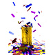 FT table confetti bomb gold