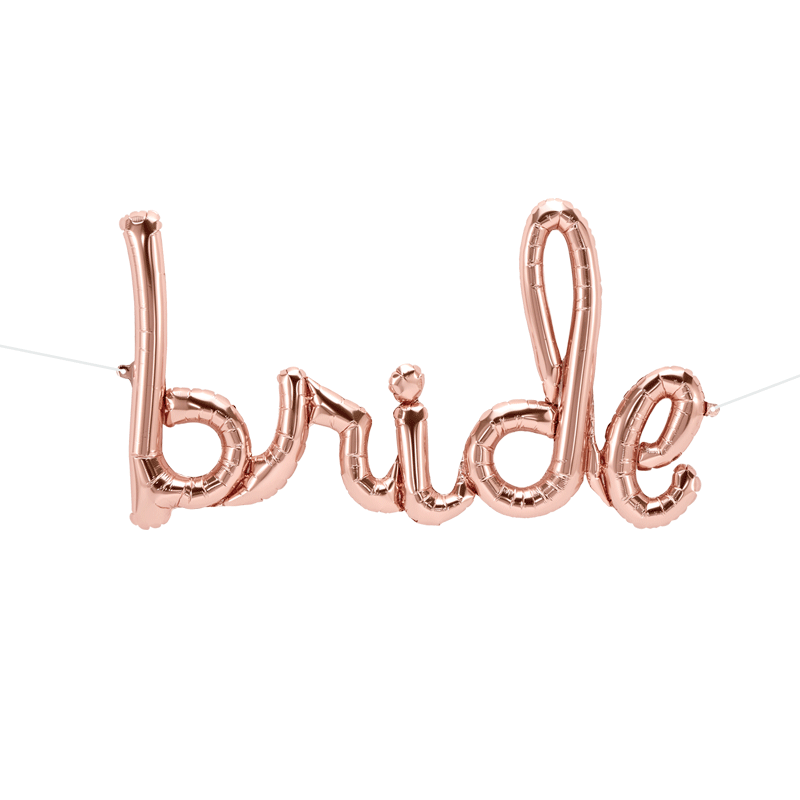 SMP bride script foil balloon 83 cm