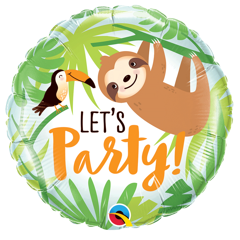 SMP Let's party & toucan sloth