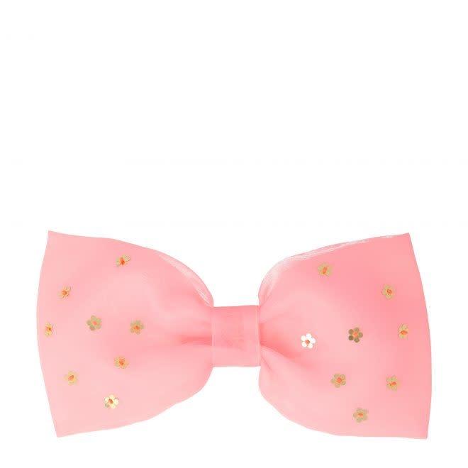 MERIMERI Flower sequin bow hair clip