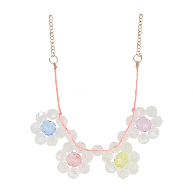 MERIMERI Flower jewel necklace