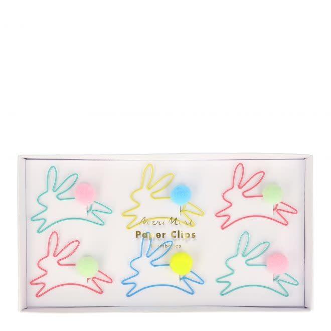 MERIMERI Bunny shaped paper clips