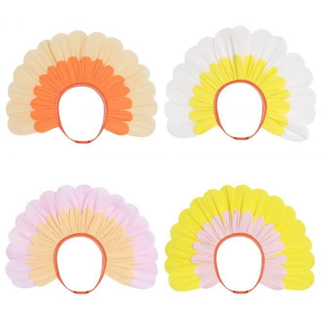 MERIMERI Flower paper bonnets